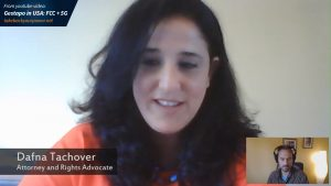 Dafna Tachover is an Israel-based attorney who is helping to lead the mission for responsible, safe technology.