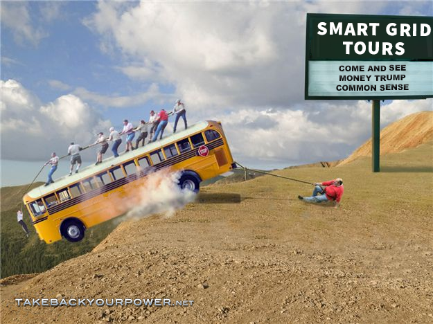 Smart Grid Tours: Come and See Money Trump Common Sense