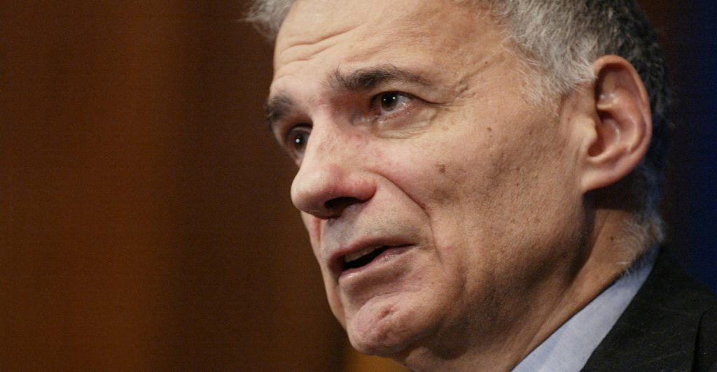 Ralph Nader on 'smart' meters