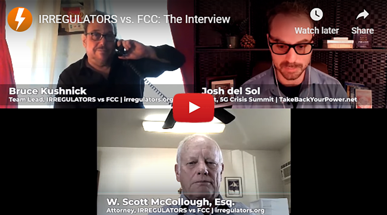 IRREGULATORS vs. FCC: Exposing and prosecuting a vast, illegal financial scandal behind 5G